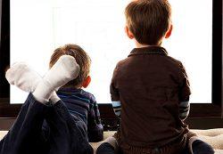 Влияние телевизора на детское зрение