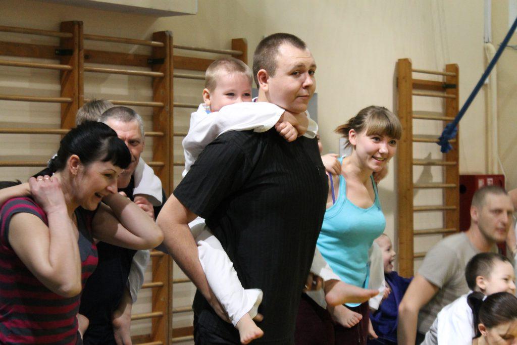 Родители и дети — совместные тренировки