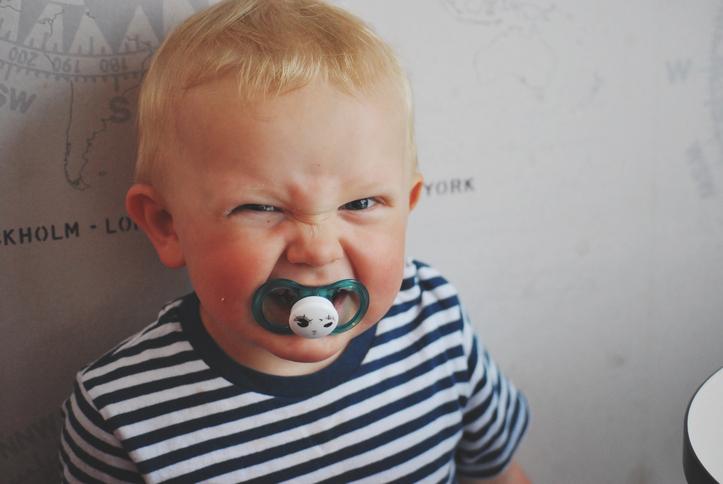 Приступы злости у малыша:как ему помочь?