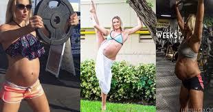 Опасности спорта для беременных