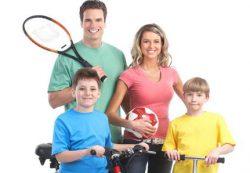 Семейная физкультура – польза родителям и детям