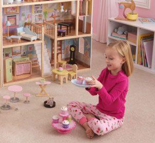 Кукольный дом – волшебство в детской