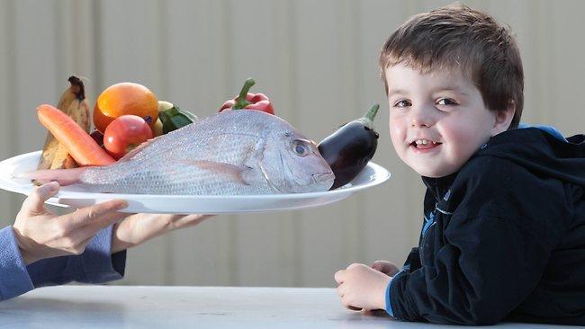 Рыбные блюда для малыша