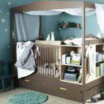 Как выбрать детскую кроватку с пеленальным столиком