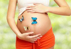 Женщина во время беременности