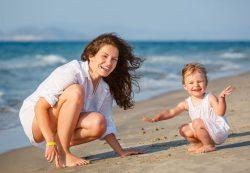 Отпуск с детьми: гигиена прежде всего