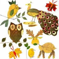 Мастер-класс: красивые поделки из осенних листьев