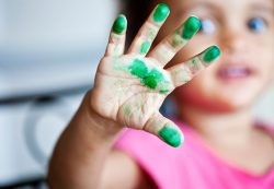 Пальчиковые краски для малышей