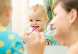 Зубные пасты для малышей