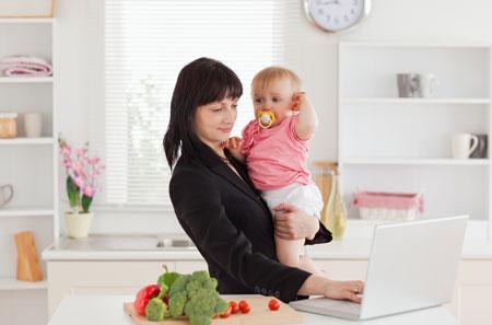Как подготовить ребенка к выходу мамы на работу?