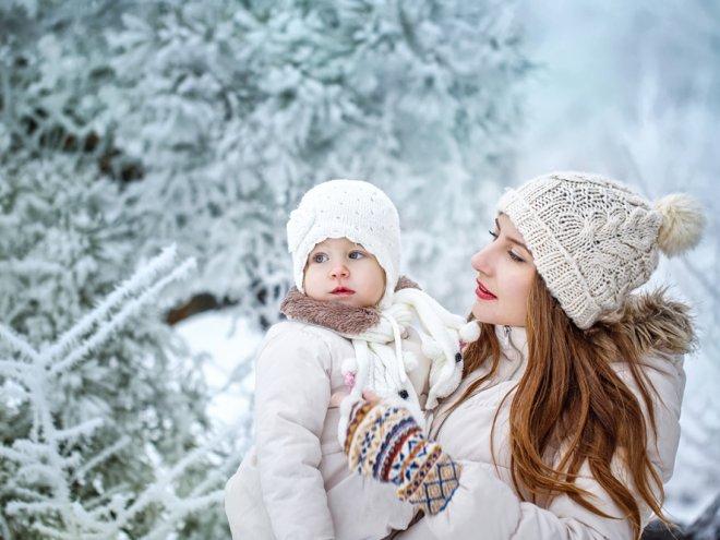 Одеваем ребенка на зиму