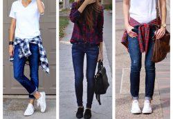 С чем носить скинни и какой лучше подобрать образ