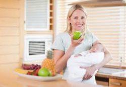 Кормящая мама тоже должна вкусно кушать