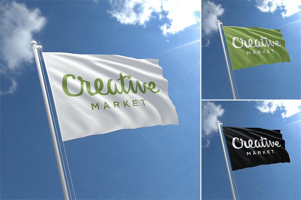 Флаги с логотипом компании: универсальная реклама для бизнеса