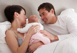 Когда муж и жена становятся мамой и папой