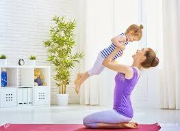 Фитнес для мамочек: ребенок вместо утяжелителя