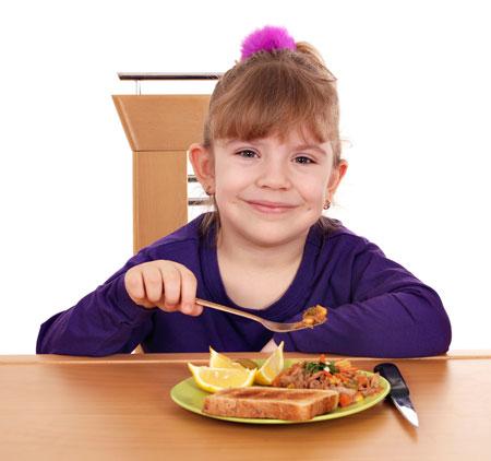 Ребенок плохо ест? Проведите эксперимент!