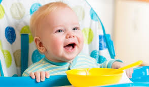 Первая посуда малыша