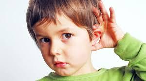 Проблемы со слухом у детей