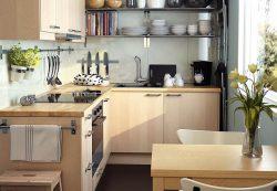 Выбираем мебель для маленькой кухни