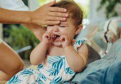 У малыша понижена температура
