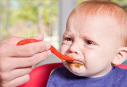 Нежелательная реакция на пищу у малыша