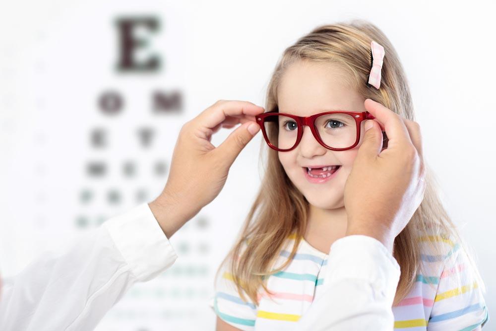 Как подобрать очки ребёнку с близорукостью