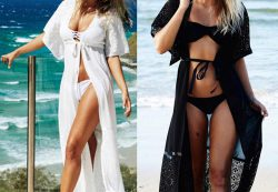 Пляжные туники летом