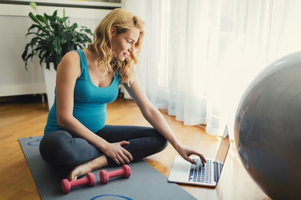 Разрешенные тренировки для беременной