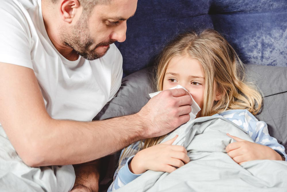 Комплекс здоровья: лечение простуды у детей