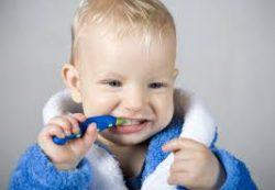 Первым зубкам – первую щетку