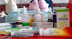Аптечка для мамы и малыша