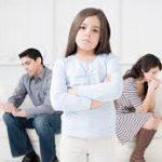 Когда родители разводятся