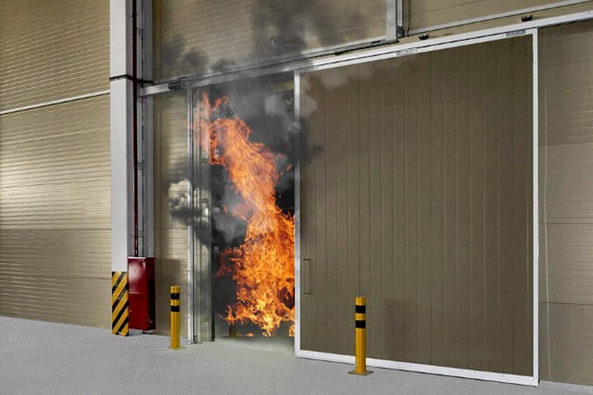 Виды и преимущества противопожарных ворот