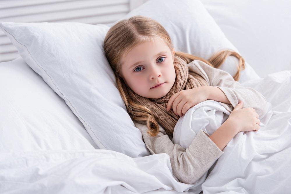 Как не заразиться ОРВИ от малыша