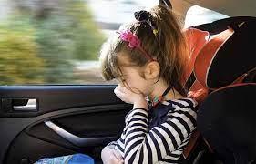 Если малыша тошнит в машине