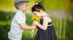Любовь в детском саду. Что чувствуешь, когда влюбился?